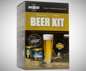 gift ideas for men - homemade beer kit
