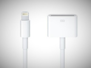 iphone 5 lightning connector adapter