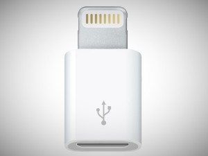 iphone 5 micro usb to lightning connector adapter