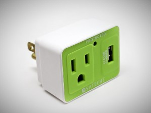 stuff for guys - Satechi USB surge protector