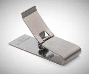 stuff for guys - titanium best money clip