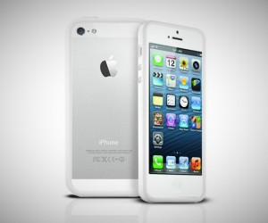 stuff for guys - white photive iphone 5 bumper case