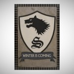 Game of Thrones Winter is Coming Poster