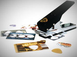 cool gift ideas guitar pick punch