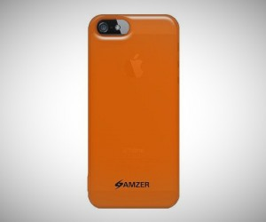 gift ideas for men Amzer Soft Gel TPU Gloss Skin Fit Case Cover for Apple iPhone 5