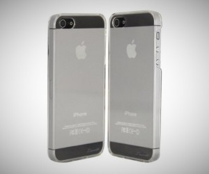 gift ideas for men  Luvvitt CRISTAL Hard Shell Anti-Scratch Case for iPhone 5