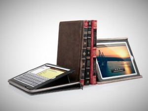 Leather BookBook iPad Case