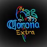 corona neon sign