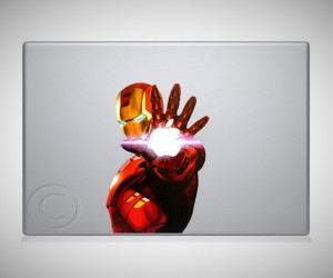 ironman macbook decal