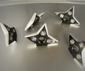 throwing star magnets