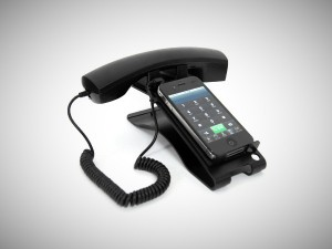 turn your iphone into a deskphone trending gear coolstuff that guyswant. Black Bedroom Furniture Sets. Home Design Ideas